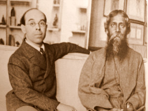 Rothenstein and Tagore2b