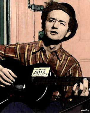 Woody_Guthrie by dmriley2