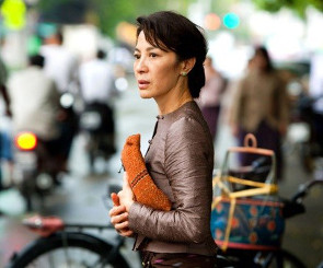 "Michelle Yeoh as ""The Lady"""